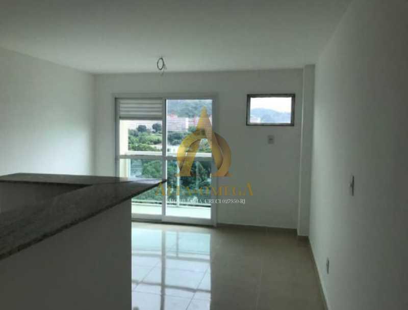 2 - Apartamento Estrada do Rio Grande,Taquara, Rio de Janeiro, RJ Para Alugar, 1 Quarto, 40m² - AOJ10012L - 1