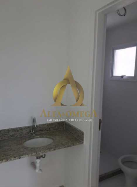 6 - Apartamento Estrada do Rio Grande,Taquara, Rio de Janeiro, RJ Para Alugar, 1 Quarto, 40m² - AOJ10012L - 9