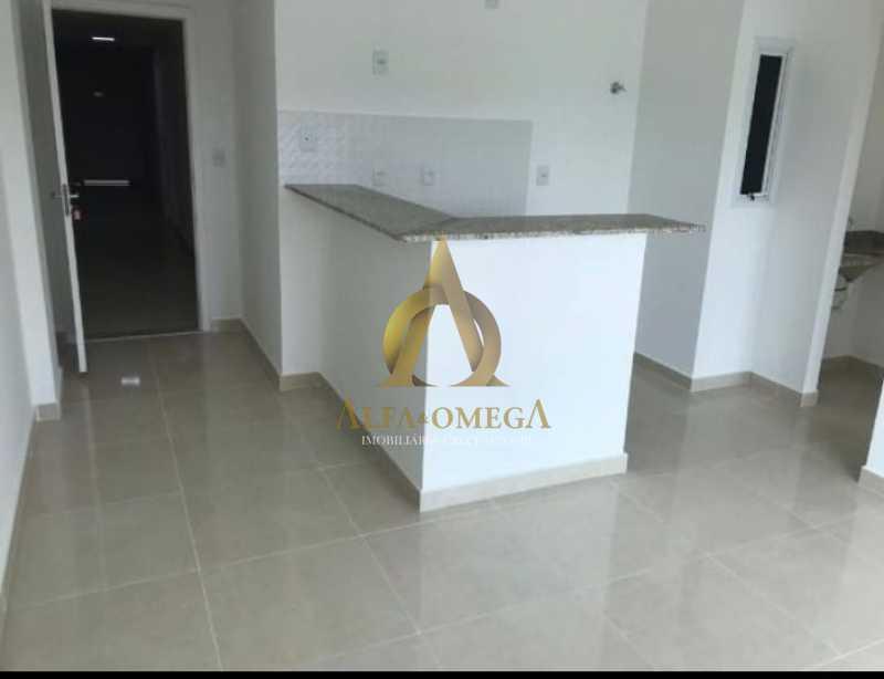9 - Apartamento Estrada do Rio Grande,Taquara, Rio de Janeiro, RJ Para Alugar, 1 Quarto, 40m² - AOJ10012L - 5