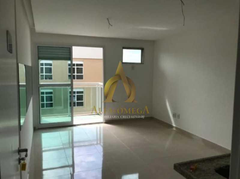 12 - Apartamento Estrada do Rio Grande,Taquara, Rio de Janeiro, RJ Para Alugar, 1 Quarto, 36m² - AOJ10013L - 1
