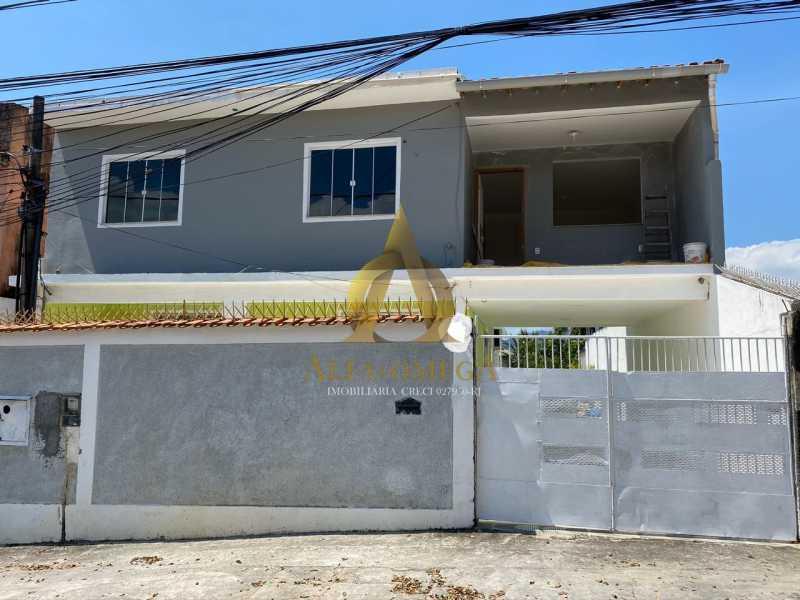 1 - Casa Rua do Maracujá,Curicica, Rio de Janeiro, RJ Para Alugar, 3 Quartos, 120m² - AOJ60038L - 1