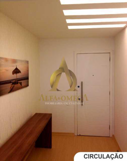 3 - Apartamento Avenida Lúcio Costa,Barra da Tijuca, Rio de Janeiro, RJ Para Alugar, 1 Quarto, 66m² - AO10170L - 4