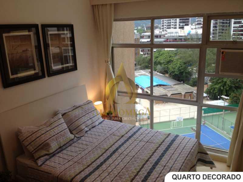 4 - Apartamento Avenida Lúcio Costa,Barra da Tijuca, Rio de Janeiro, RJ Para Alugar, 1 Quarto, 66m² - AO10170L - 5