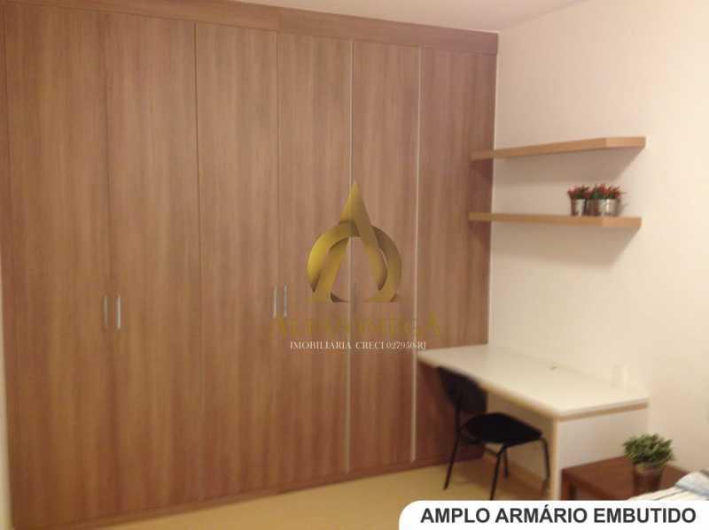 8 - Apartamento Avenida Lúcio Costa,Barra da Tijuca, Rio de Janeiro, RJ Para Alugar, 1 Quarto, 66m² - AO10170L - 6