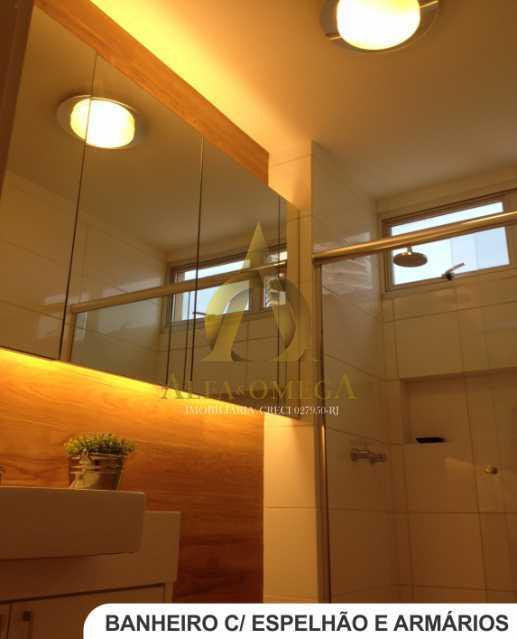 10 - Apartamento Avenida Lúcio Costa,Barra da Tijuca, Rio de Janeiro, RJ Para Alugar, 1 Quarto, 66m² - AO10170L - 7