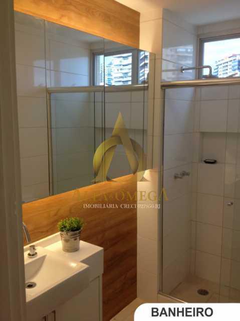 11 - Apartamento Avenida Lúcio Costa,Barra da Tijuca, Rio de Janeiro, RJ Para Alugar, 1 Quarto, 66m² - AO10170L - 8