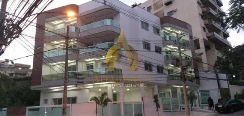 1 - Apartamento à venda Rua Ituverava,Anil, Rio de Janeiro - R$ 450.000 - AOJ10013 - 12