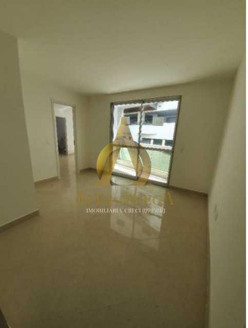 2 - Apartamento à venda Rua Ituverava,Anil, Rio de Janeiro - R$ 450.000 - AOJ10013 - 1