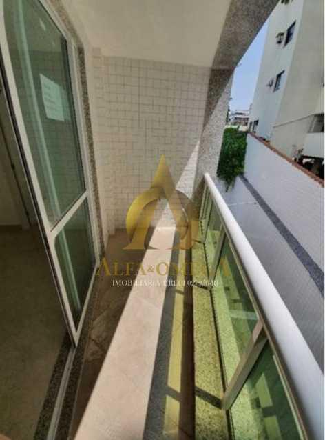 3 - Apartamento à venda Rua Ituverava,Anil, Rio de Janeiro - R$ 450.000 - AOJ10013 - 3