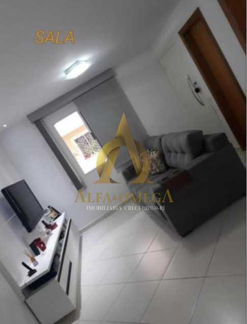 1 - Casa em Condomínio Rua Florianópolis,Praça Seca, Rio de Janeiro, RJ À Venda, 3 Quartos, 77m² - AOJ60090 - 1