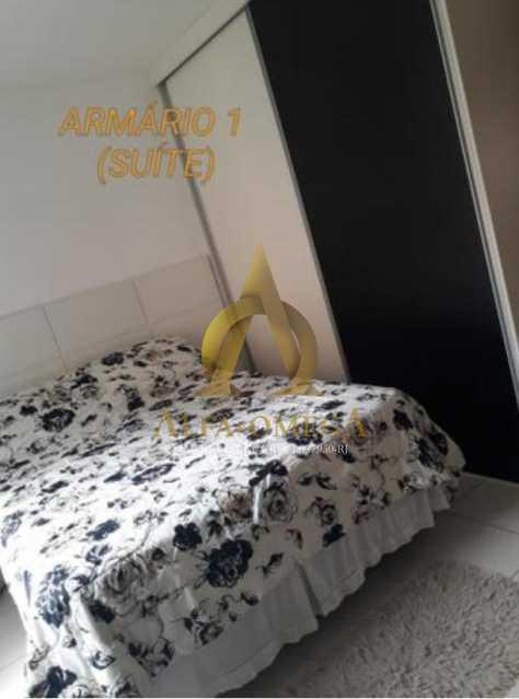4 - Casa em Condomínio Rua Florianópolis,Praça Seca, Rio de Janeiro, RJ À Venda, 3 Quartos, 77m² - AOJ60090 - 6