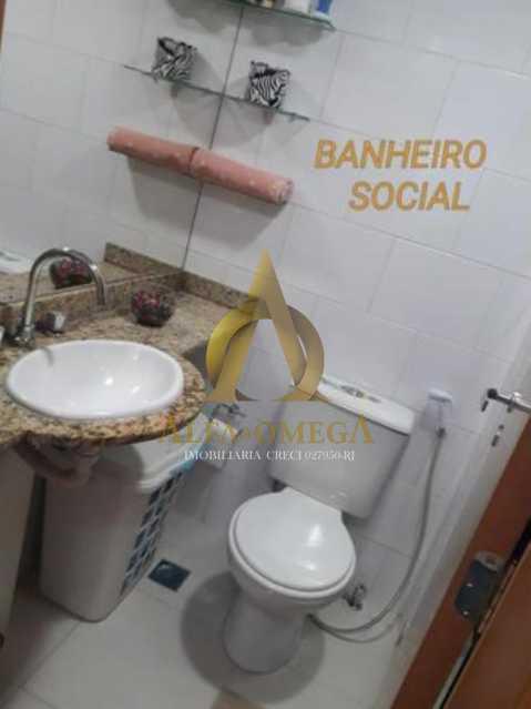 5 - Casa em Condomínio Rua Florianópolis,Praça Seca, Rio de Janeiro, RJ À Venda, 3 Quartos, 77m² - AOJ60090 - 10