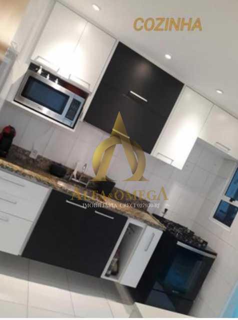10 - Casa em Condomínio Rua Florianópolis,Praça Seca, Rio de Janeiro, RJ À Venda, 3 Quartos, 77m² - AOJ60090 - 14