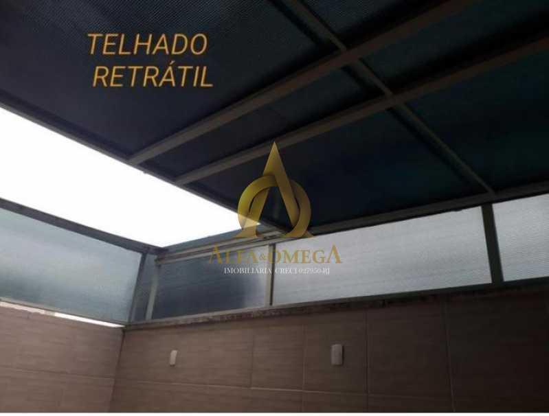 14 - Casa em Condomínio Rua Florianópolis,Praça Seca, Rio de Janeiro, RJ À Venda, 3 Quartos, 77m² - AOJ60090 - 17