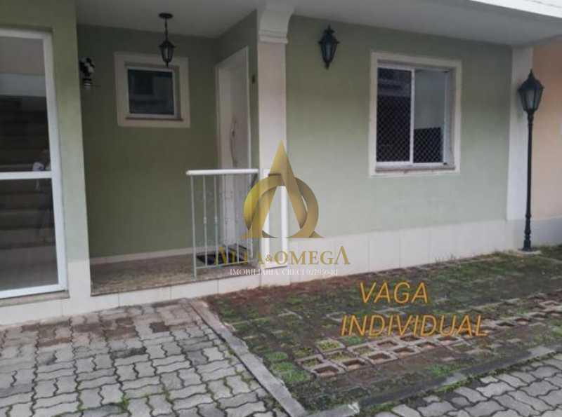 16 - Casa em Condomínio Rua Florianópolis,Praça Seca, Rio de Janeiro, RJ À Venda, 3 Quartos, 77m² - AOJ60090 - 18