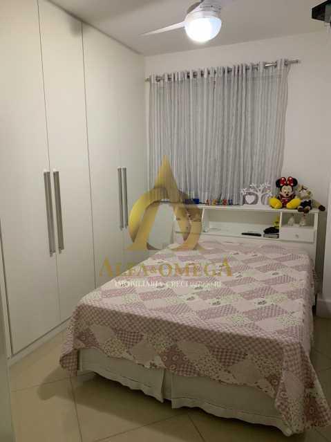 1 - Apartamento à venda Rua Laura Teles,Tanque, Rio de Janeiro - R$ 380.000 - AOJ30057 - 6