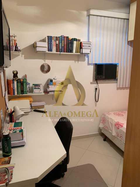 4 - Apartamento à venda Rua Laura Teles,Tanque, Rio de Janeiro - R$ 380.000 - AOJ30057 - 11