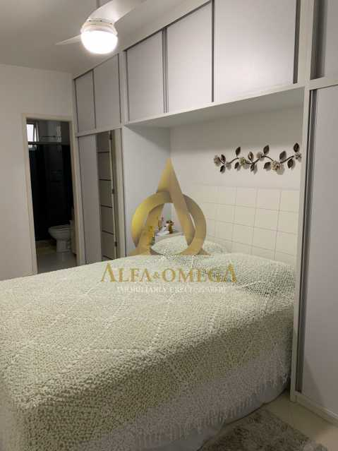 5 - Apartamento à venda Rua Laura Teles,Tanque, Rio de Janeiro - R$ 380.000 - AOJ30057 - 9