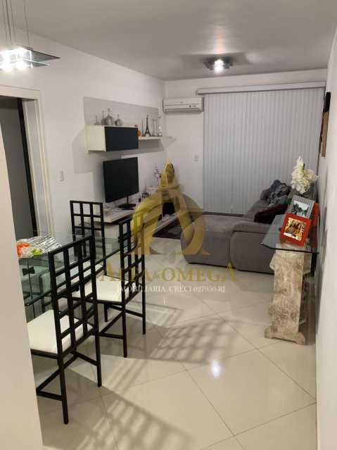 9 - Apartamento à venda Rua Laura Teles,Tanque, Rio de Janeiro - R$ 380.000 - AOJ30057 - 1