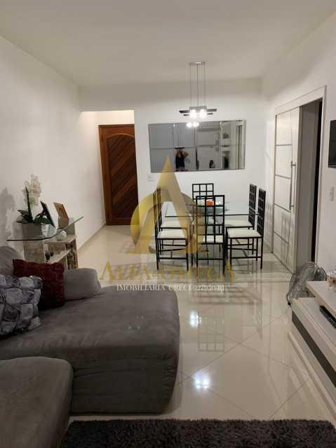 10 - Apartamento à venda Rua Laura Teles,Tanque, Rio de Janeiro - R$ 380.000 - AOJ30057 - 3