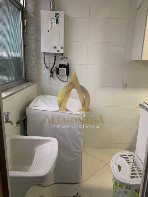 11 - Apartamento à venda Rua Laura Teles,Tanque, Rio de Janeiro - R$ 380.000 - AOJ30057 - 16