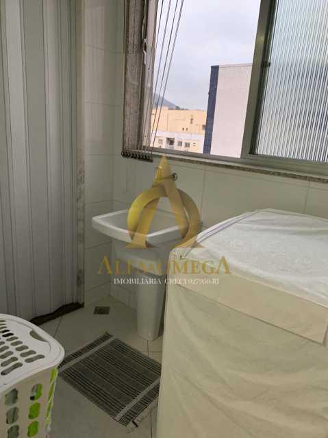 15 - Apartamento à venda Rua Laura Teles,Tanque, Rio de Janeiro - R$ 380.000 - AOJ30057 - 17
