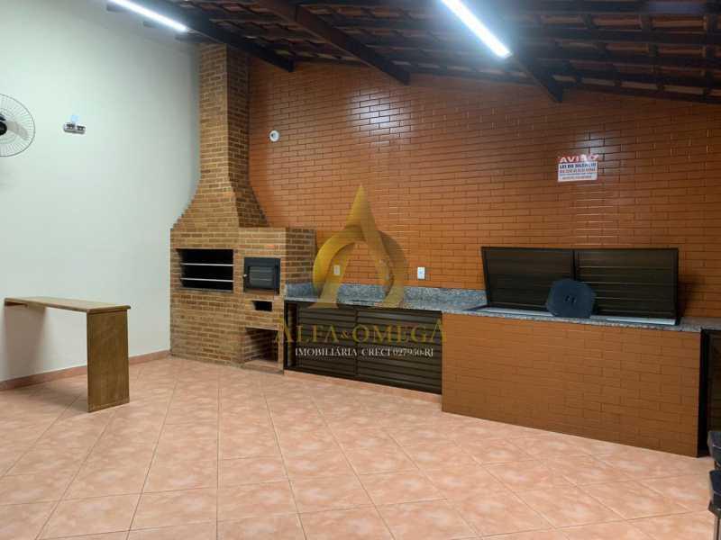 22 - Apartamento à venda Rua Laura Teles,Tanque, Rio de Janeiro - R$ 380.000 - AOJ30057 - 22