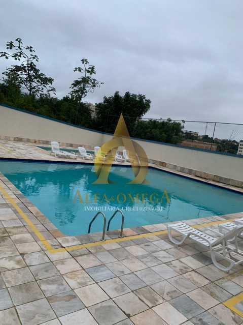 23 - Apartamento à venda Rua Laura Teles,Tanque, Rio de Janeiro - R$ 380.000 - AOJ30057 - 27