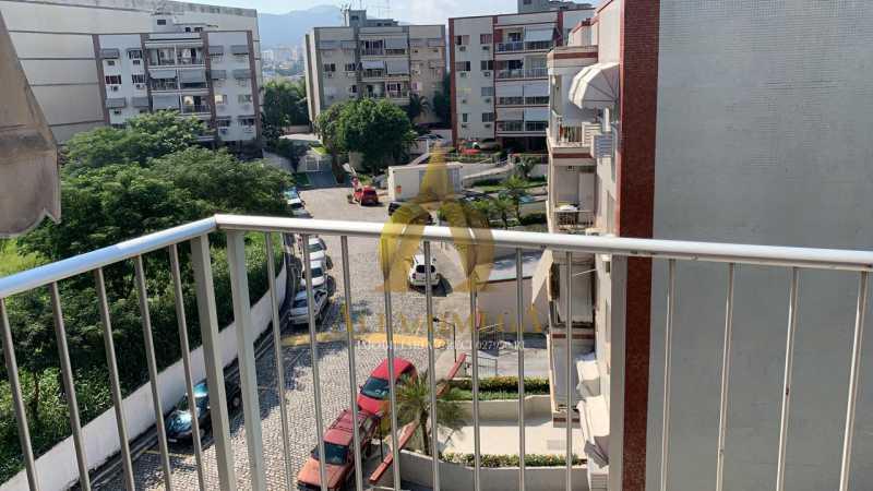 27 - Apartamento à venda Rua Laura Teles,Tanque, Rio de Janeiro - R$ 380.000 - AOJ30057 - 5