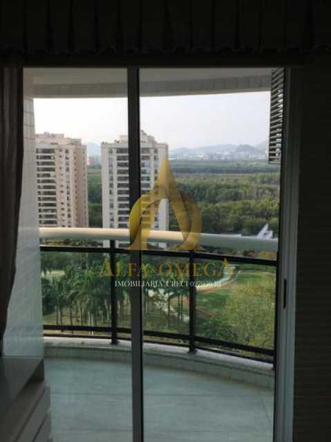 1 - Apartamento Avenida das Acácias,Barra da Tijuca, Rio de Janeiro, RJ Para Alugar, 4 Quartos, 180m² - AO40062L - 4