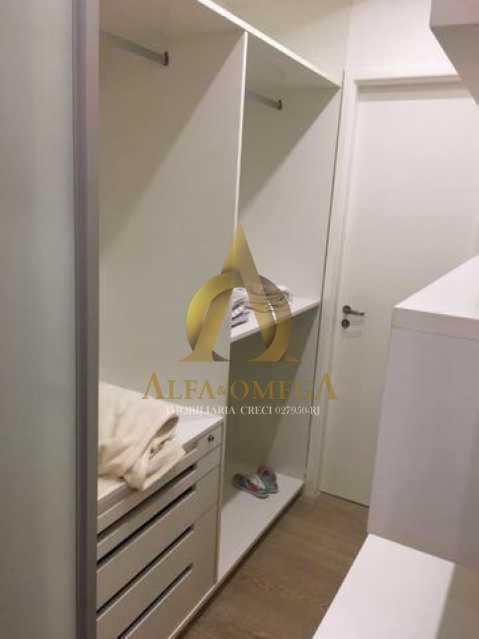 4 - Apartamento Avenida das Acácias,Barra da Tijuca, Rio de Janeiro, RJ Para Alugar, 4 Quartos, 180m² - AO40062L - 11