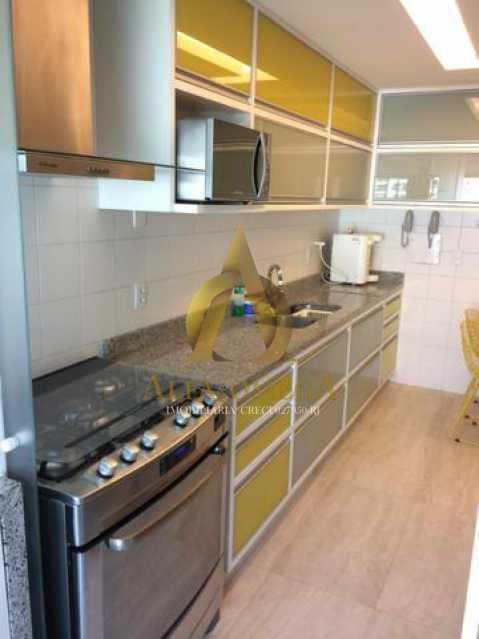 7 - Apartamento Avenida das Acácias,Barra da Tijuca, Rio de Janeiro, RJ Para Alugar, 4 Quartos, 180m² - AO40062L - 16