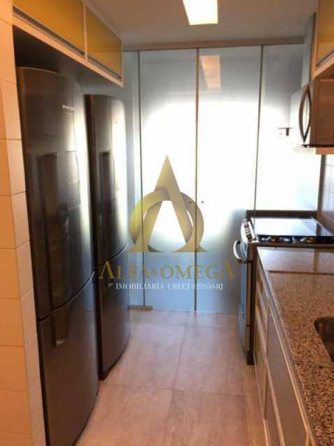 8 - Apartamento Avenida das Acácias,Barra da Tijuca, Rio de Janeiro, RJ Para Alugar, 4 Quartos, 180m² - AO40062L - 18