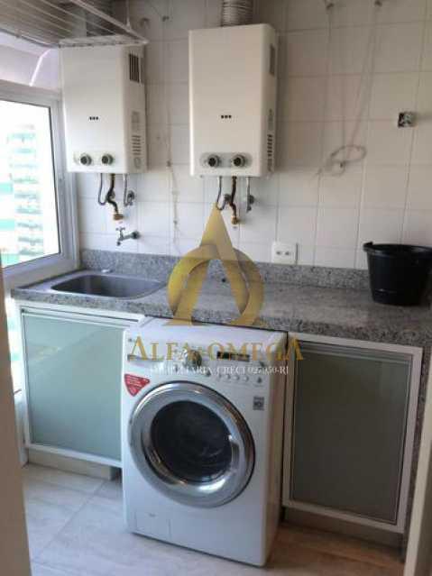 9 - Apartamento Avenida das Acácias,Barra da Tijuca, Rio de Janeiro, RJ Para Alugar, 4 Quartos, 180m² - AO40062L - 19