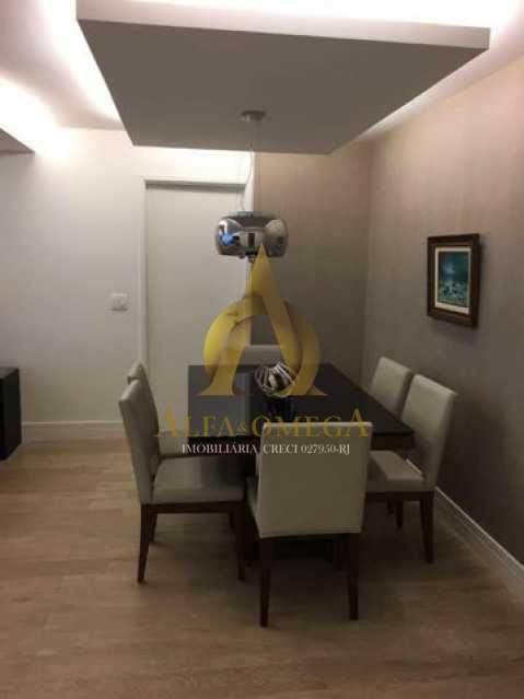 12 - Apartamento Avenida das Acácias,Barra da Tijuca, Rio de Janeiro, RJ Para Alugar, 4 Quartos, 180m² - AO40062L - 9