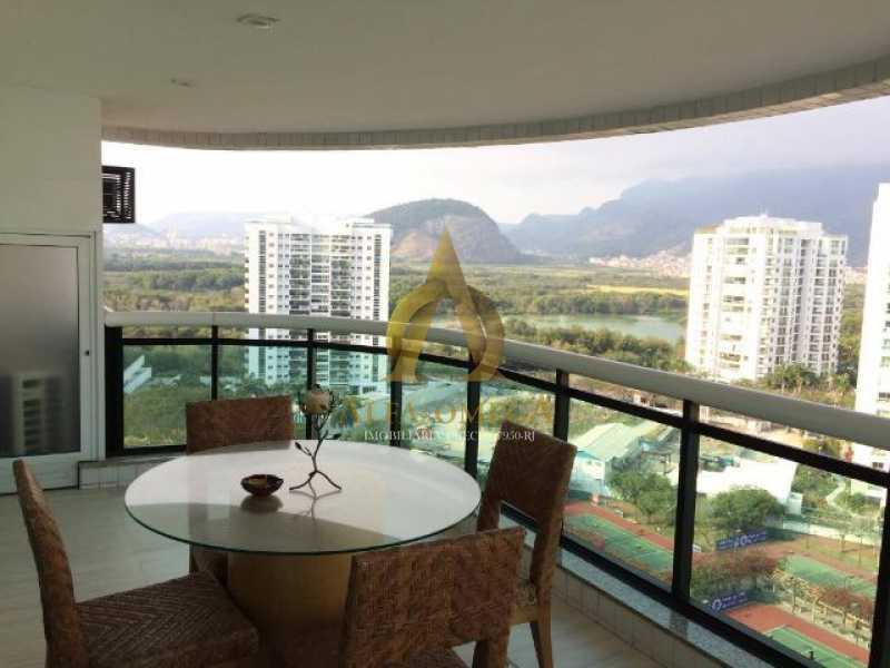 13 - Apartamento Avenida das Acácias,Barra da Tijuca, Rio de Janeiro, RJ Para Alugar, 4 Quartos, 180m² - AO40062L - 3