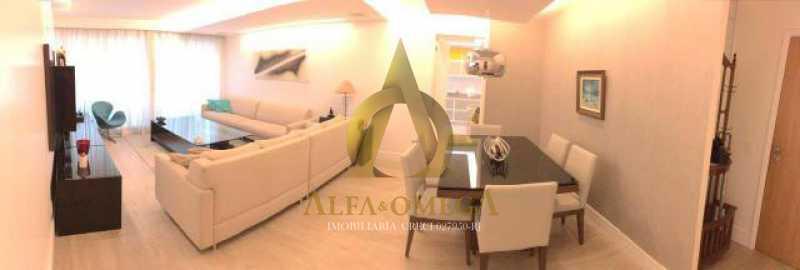 15 - Apartamento Avenida das Acácias,Barra da Tijuca, Rio de Janeiro, RJ Para Alugar, 4 Quartos, 180m² - AO40062L - 6