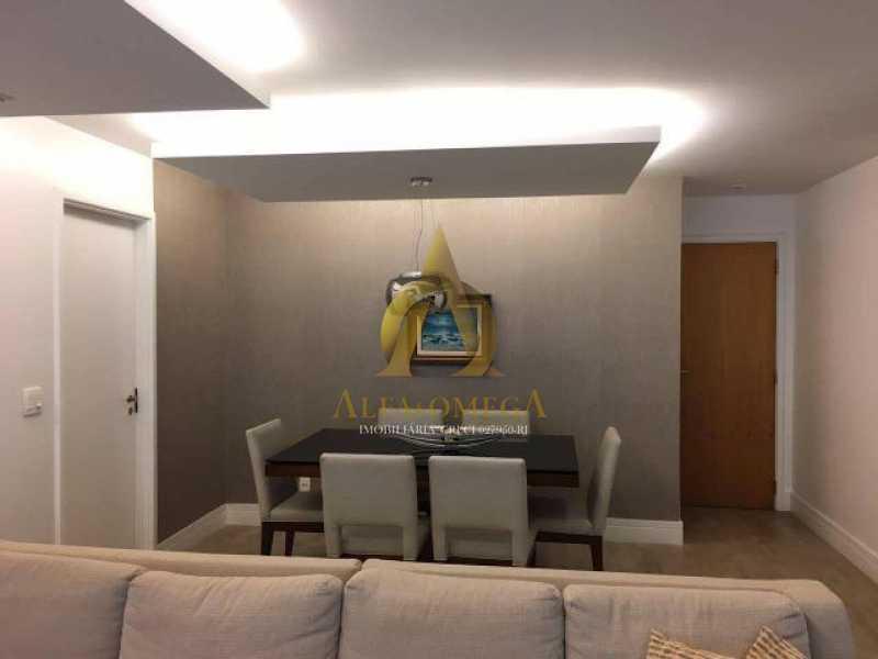 18 - Apartamento Avenida das Acácias,Barra da Tijuca, Rio de Janeiro, RJ Para Alugar, 4 Quartos, 180m² - AO40062L - 7