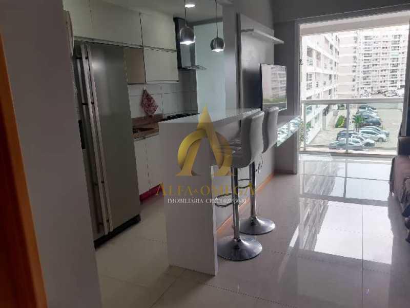 2 - Apartamento Estrada Benvindo de Novais,Recreio dos Bandeirantes, Rio de Janeiro, RJ Para Alugar, 2 Quartos, 70m² - AO20302L - 1