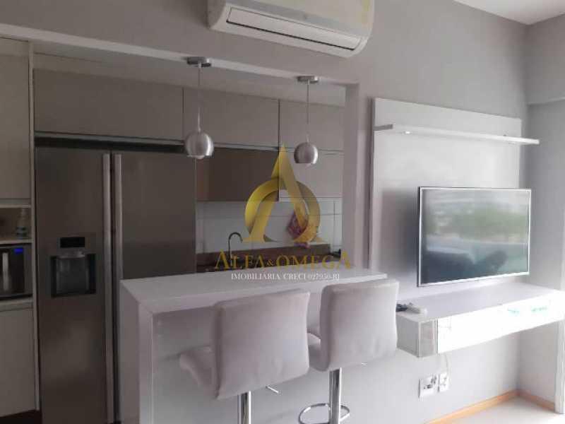 5 - Apartamento Estrada Benvindo de Novais,Recreio dos Bandeirantes, Rio de Janeiro, RJ Para Alugar, 2 Quartos, 70m² - AO20302L - 13