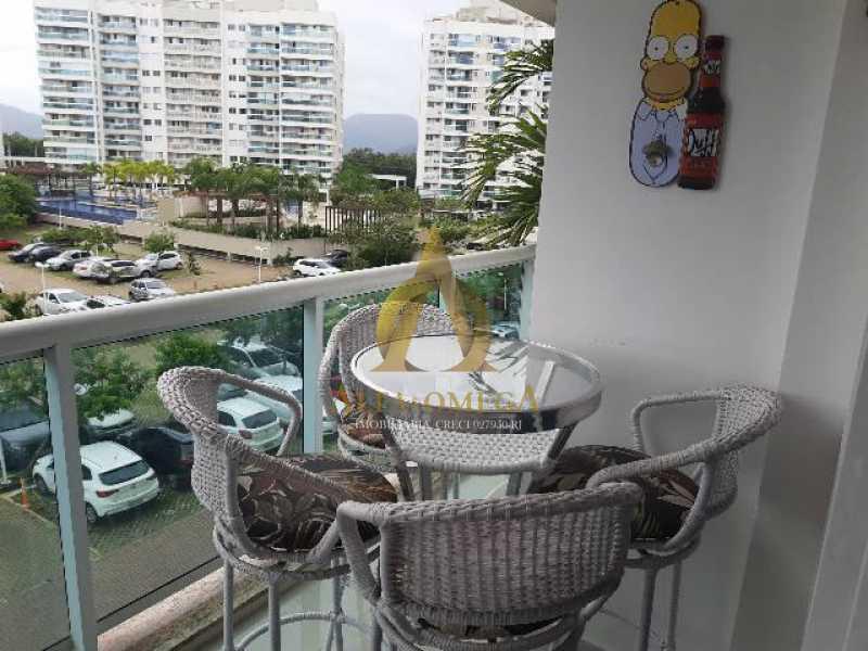 6 - Apartamento Estrada Benvindo de Novais,Recreio dos Bandeirantes, Rio de Janeiro, RJ Para Alugar, 2 Quartos, 70m² - AO20302L - 4