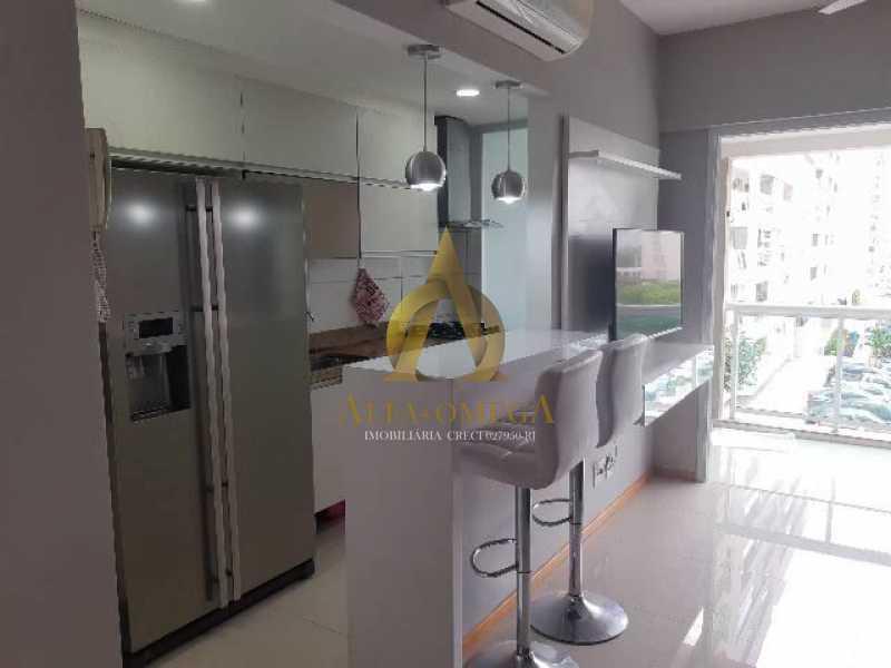 11 - Apartamento Estrada Benvindo de Novais,Recreio dos Bandeirantes, Rio de Janeiro, RJ Para Alugar, 2 Quartos, 70m² - AO20302L - 12