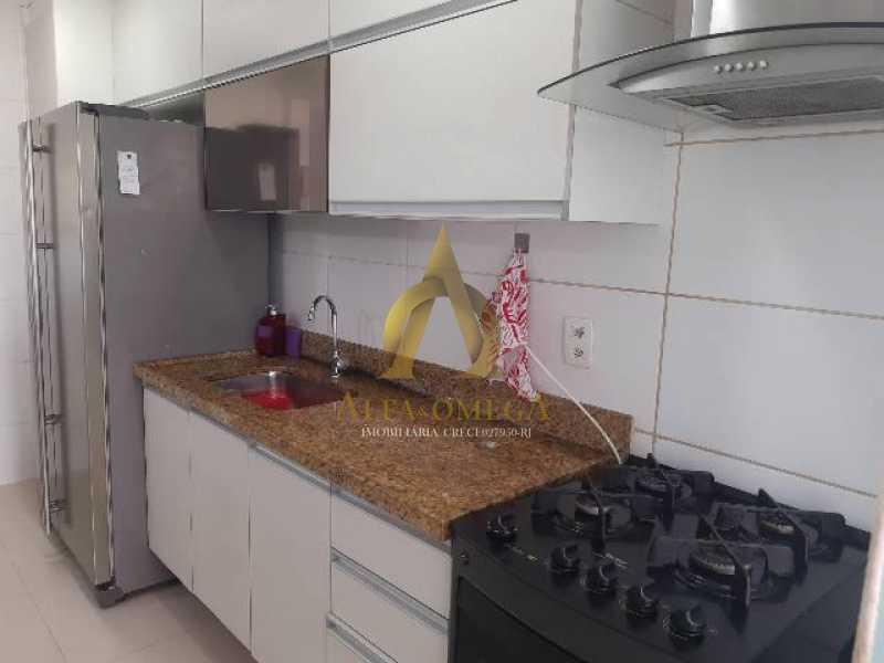 12 - Apartamento Estrada Benvindo de Novais,Recreio dos Bandeirantes, Rio de Janeiro, RJ Para Alugar, 2 Quartos, 70m² - AO20302L - 15
