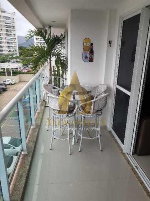 13 - Apartamento Estrada Benvindo de Novais,Recreio dos Bandeirantes, Rio de Janeiro, RJ Para Alugar, 2 Quartos, 70m² - AO20302L - 3