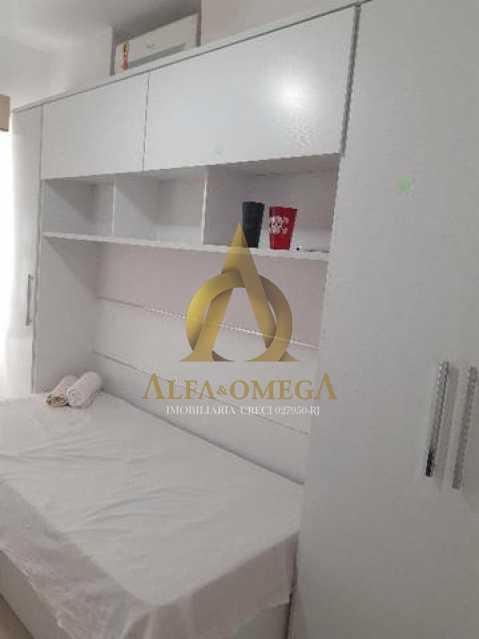16 - Apartamento Estrada Benvindo de Novais,Recreio dos Bandeirantes, Rio de Janeiro, RJ Para Alugar, 2 Quartos, 70m² - AO20302L - 9