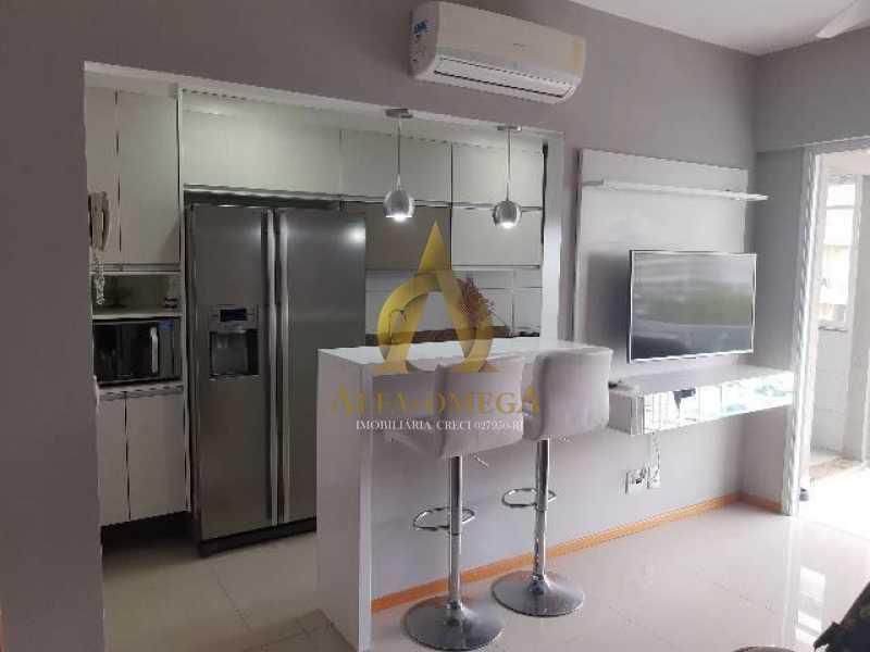 18 - Apartamento Estrada Benvindo de Novais,Recreio dos Bandeirantes, Rio de Janeiro, RJ Para Alugar, 2 Quartos, 70m² - AO20302L - 14