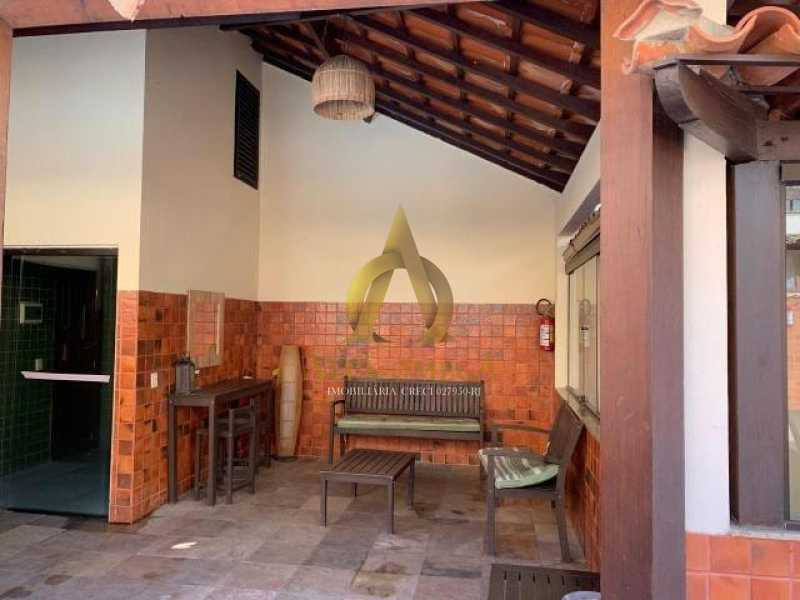 20 - Casa em Condomínio Para Alugar Rua José Américo de Almeida,Recreio dos Bandeirantes, Rio de Janeiro - R$ 3.000 - AO60056L - 19