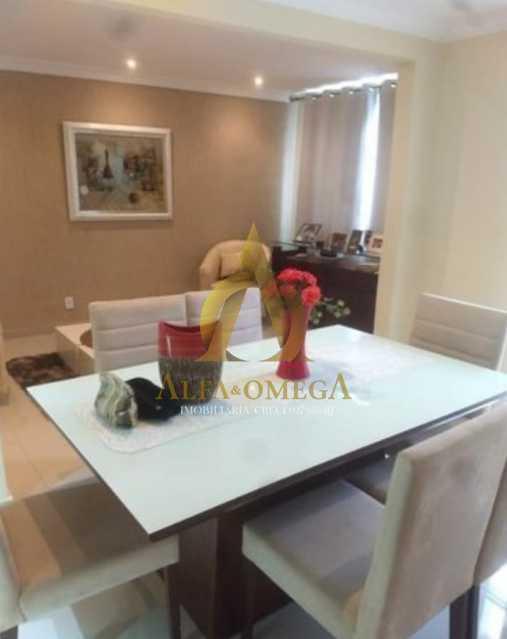1 - Casa em Condomínio à venda Rua Suzano,Freguesia (Jacarepaguá), Rio de Janeiro - R$ 750.000 - AOJ60092 - 4