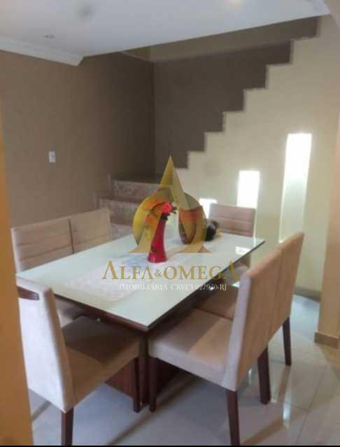 4 - Casa em Condomínio à venda Rua Suzano,Freguesia (Jacarepaguá), Rio de Janeiro - R$ 750.000 - AOJ60092 - 5
