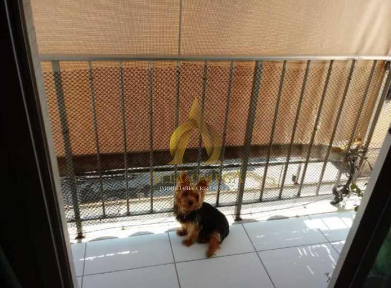 15 - Apartamento à venda Rua Baronesa,Praça Seca, Rio de Janeiro - R$ 200.000 - AOJ20207 - 4